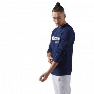 Джемпер мужской Модель: F ICONIC CREWNECK co Бренд: Reeb*ok