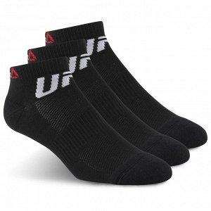 Носки Модель: UFC INSIDE SOCK BLACK/BLACK/BLACK Бренд: Reeb*ok