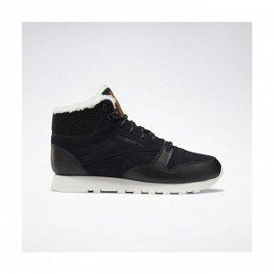 Кроссовки женские Модель: CL LTHR ARCTIC BOOT BLACK/PURPLE/CHALK/B Бренд: Reeb*ok