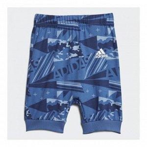 Спортивный костюм детский Модель: I SSET PRINT B ASH BLUE S18,TRACE ROYAL S18,NOBLE INDIGO S18,white Бренд: Adi*das