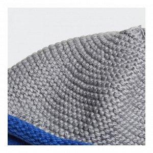 Шапка Модель: INF KNIT BEANIE MGREYH/BLUE/WHITE Бренд: Adi*das