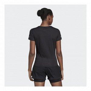 Футболка женская Модель: RUN TEE W black Бренд: Adi*das