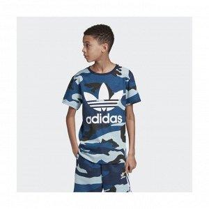 Футболка детская Модель: CAMO TEE MULTCO/WHITE Бренд: Adi*das