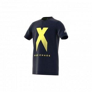 Футболка детская Модель: YB X TEE LEGINK/SYELLO Бренд: Adi*das