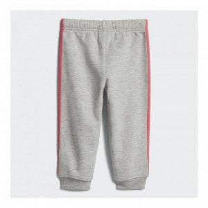 Брюки детские Модель: I FAV KN PANT medium grey heather,REAL PINK S18 Бренд: Adi*das