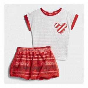 Спортивный костюм детский Модель: INF DY TM SUM white,vivid red Бренд: Adi*das