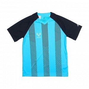 Футболка детская Модель: YB M ICON JER BLACK/BRCYAN Бренд: Adi*das