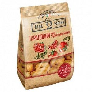 Тараллини Nina Farina 180 г с томатом и арматными травами