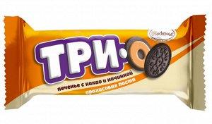 Печенье Трио с арахисовой пастой