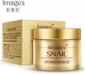 792804 IMAGES SNAIL Крем для лица с улиточным секретом, 50 г,12 шт/уп