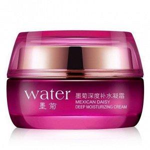 782300 BIOAQUA WATER Увлажняющий крем для лица с экстрактом хризантемы, 50г, 12 шт/уп