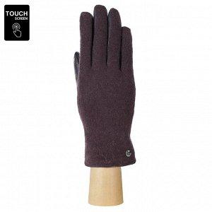 Перчатки, комбинированная кожа, FABRETTI FS3-18 d.lilac
