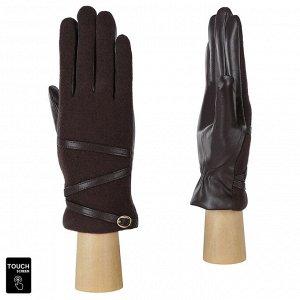 Перчатки, шерсть, Fabretti FS1-2 brown