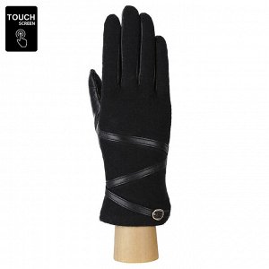 Перчатки, шерсть, FABRETTI FS1-1 black