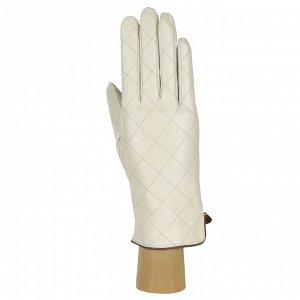 Перчатки, натуральная кожа, Fabretti 12.89-5/22s beige