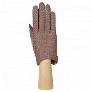 Перчатки, натуральная кожа, Fabretti 12.88-22s beige
