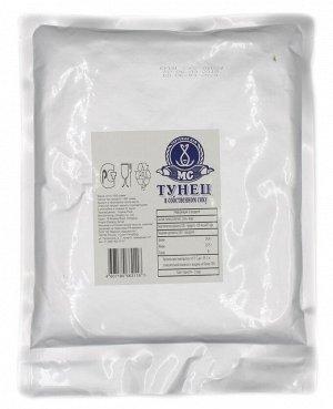 Тунец филе в с/с 1 кг реторт-пакет