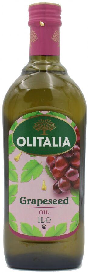 Масло из виноградных косточек 1 л рафинированное стекло Olitalia