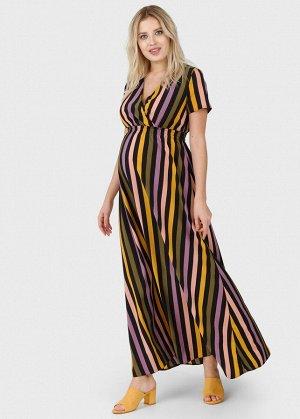 """Платье """"Брук"""" для беременных и кормящих; цвет: полоса"""