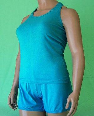 Комплекты Комплект майка борцовка и шорты из высококачественного хлопка. Хлопок 100%. Цвет черный, белый, красный, зеленый, голубой, фиолетовый, светло розовый, ментоловый, желтый, оранжевый. В коммен
