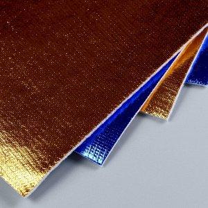 Фетр металлизированный  1,4 мм 20х30 см (набор 4 листа) цв. ассорти