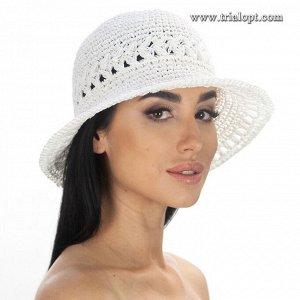 Шляпа белая