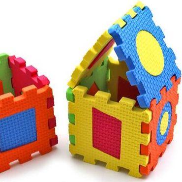 Мир развивающих игрушек Wood Toys™ — EVA Пазлы и Вкладыши — Конструкторы и пазлы