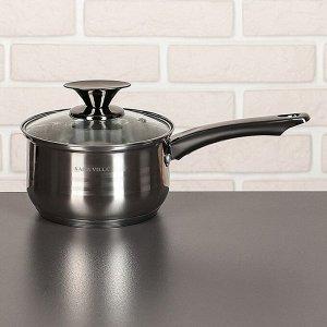 Набор посуды «Джули», 6 предметов: кастрюли 1,9/2,7/3,6/6,1 л, ковш 1,9 л, сотейник с антипригарным покрытием 24 см, капсульное дно