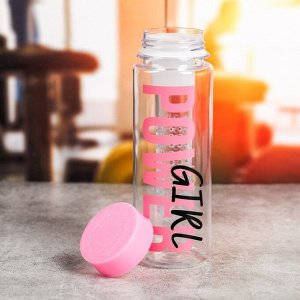 Бутылка для воды «Girl», 500 мл