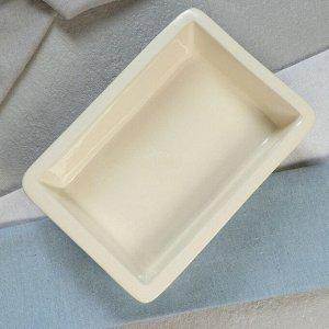 Противень для запекания, белый, 1 л