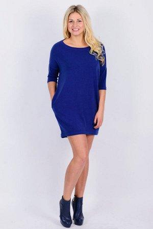 Платье П 437 (индиго)