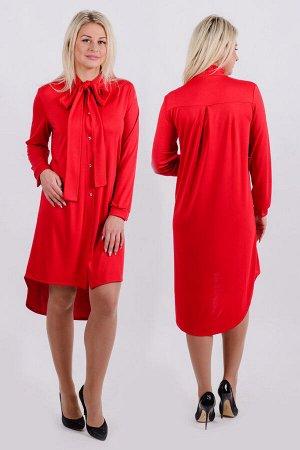 Платье П 563 (красный)