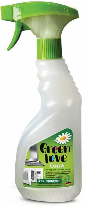 Чист.спрей GREEN LOVE 500мл универсал. с содой