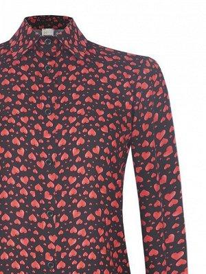 Блуза Rinas.cimento Цвет: var black Main part:100%Polyester