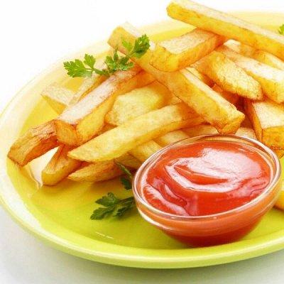 Овощи, ягода, полуфабрикаты.  — Картофель фри и картофельные дольки — Для фритюра