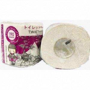 Бумага туалетная HARUKO фиолетовая,1 рулон