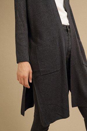 #94019 Кардиган (Emka Fashion) темно-серый