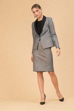 #93934 Жакет (Emka Fashion) Серый