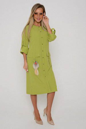 ПЛАТЬЕ Длина платья измеряется по спинке от основания шеи до низа изделия.  Для размеров 42, 44, 46 длина жакета составляет 106 см; для размера 48 – 107 см, для размера 50 – 108 см, для размера 52 - 1