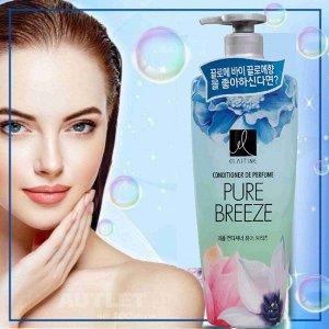 """Парфюмированный кондиционер для всех типов волос """"Elastine Perfume Pure Breeze"""", 600 мл"""