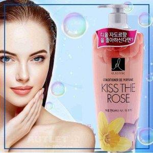 """Парфюмированный кондиционер для всех типов волос """" Elastine Perfume Kiss the rose"""", 600 мл"""