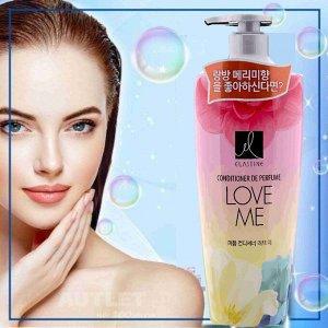 """Парфюмированный кондиционер  для всех типов волос """" Elastine Perfume Love me"""", 600 мл"""