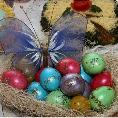 Канун праздника лучше самого праздника. Новинки — Бумажные наклейки для яиц