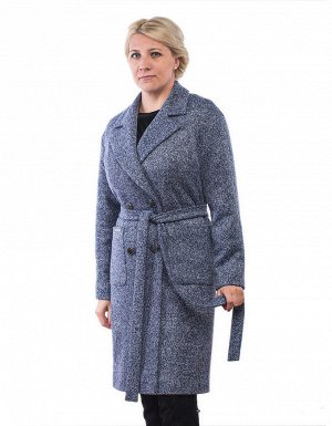 Пальто Длина по спине: 99 см. Длина рукава от горловины: 74 см. Ткань: Пальтовая ткань , на трикотаже, Подкладка: Полиэстер