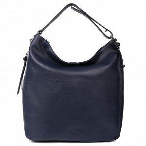 Сумка-мешок кожаная LEO VENTONI 23004546-Blue
