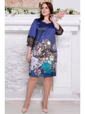 Платье МАРИЛЕНА синий купон