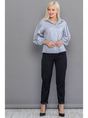 Блуза ЛИЗА нежный антрацит
