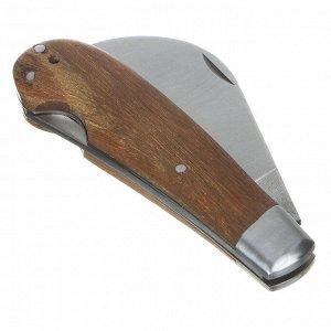 INBLOOM Нож садовый, 18см, нерж. сталь, дерево ✅