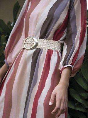 Платье Размерный ряд: 42-54 Состав ткани: полиэстер100% Длина: 115 см. Описание модели Позитивная полоса. Полосатое легкое шифоновое платье - трапеция понравится любительницам ярких цветовых сочетани