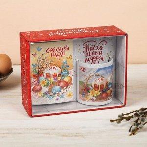 Подарочный набор «Пасхальная композиция»: кружка, блокнот
